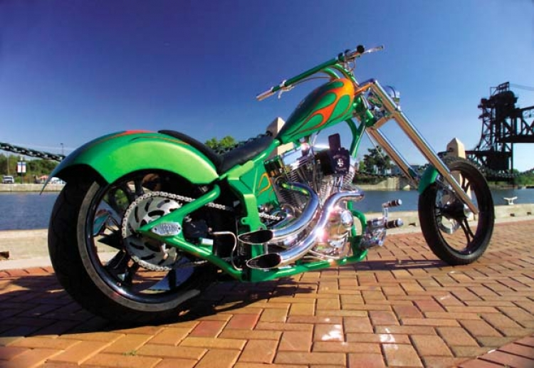 Prison City Choppers Builds 280 Rear Tire Chopper